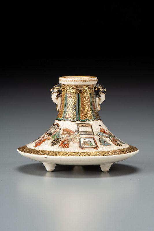 A Japanese Satsuma vase