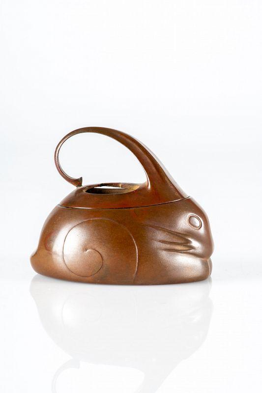 A Japanese bronze koro