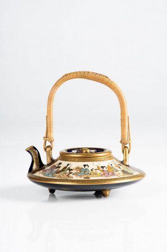 Kinkozan - A Japanese Satsuma teapot