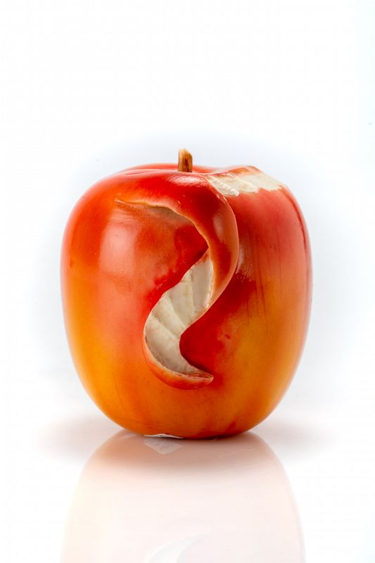 A Japanese study of an apple