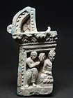 Gandhara Panel Buddha and Attendant, 2nd/3rd Cen AD