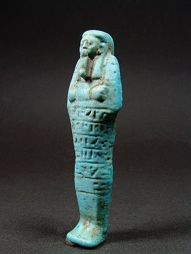 Shabti of Ankh-Hor, Early 26th Dynasty, ca. 664-595 BC