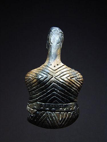 Anatolian Caykenar Figure, Early Bronze Age I-II, 3000-2400 BC