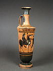 Attic Black-figure Lekythos by the Diosphos-Painter, ca. 490 BC