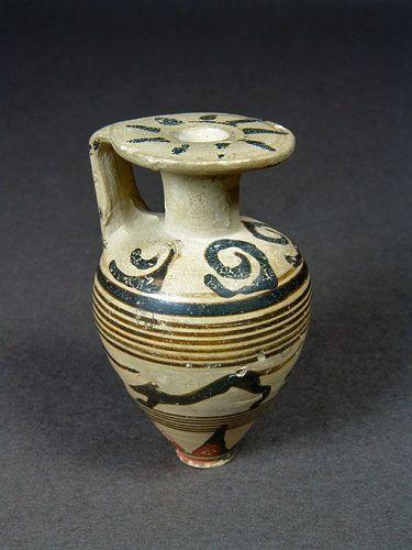 Late Proto-Corinthian Aryballos, ex Sotheby�s/Erskine, 650-640 BC