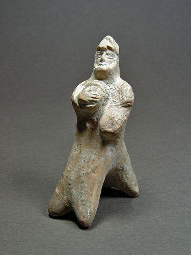 Near Eastern Terracotta Horseman, 4rd/3rd Century BC