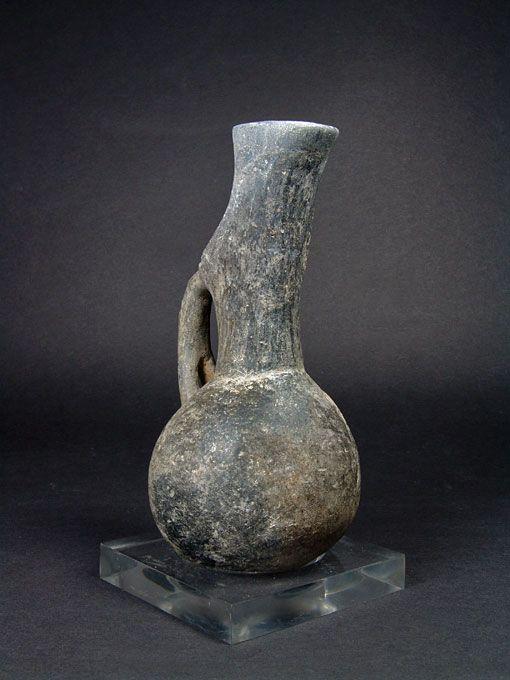 Anatolian Pottery Jug, ex Elsa Bloch-Diener, 2700-2500 BC