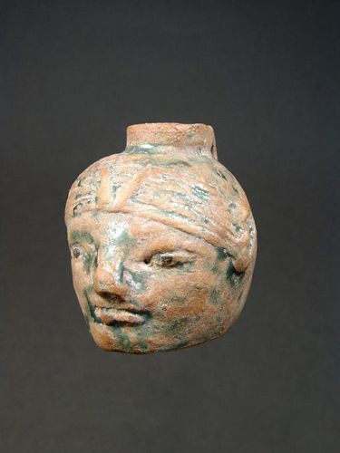 Graeco-Egyptian Faience Aryballos, 6th Century BC