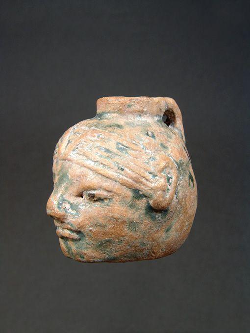 Graeco-Egyptian Faience Aryballos, 6th Century BC