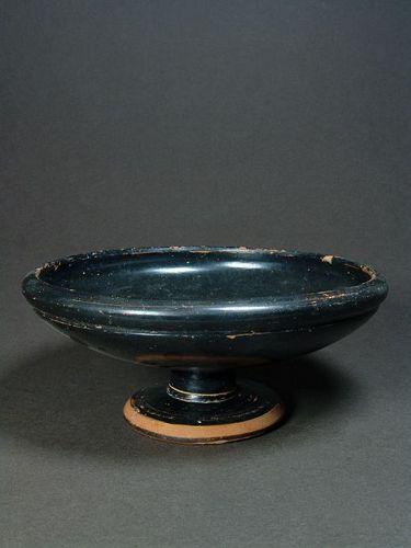 Attic Stemmed Dish, ca. 500 BC