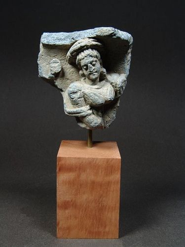 Gandhara Relief Fragment with Woman, 2nd/3rd Century AD