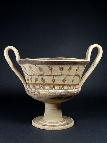 Greek South Italian Kantharos, 4th Century BC