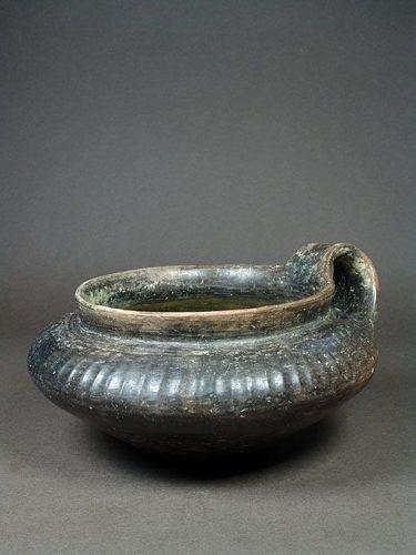 Etruscan Impasto Ware Kyathos, 7th Century BC