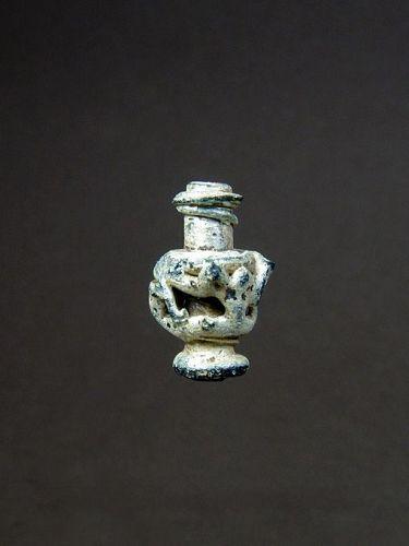 Roman Miniature Glass Vase, around 400 AD