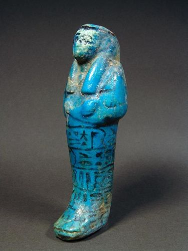 Egyptian Shabti, Divine Adoratrice Henuttawy, ca. 980-930 BC