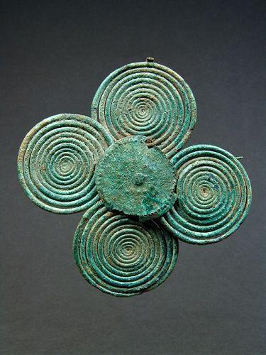 Etruscan Four-Spiral Fibula, 750-700 BC