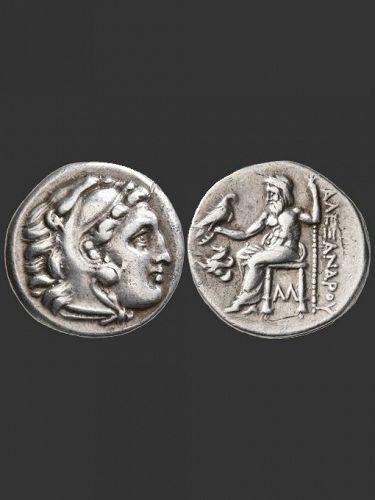 Alexander Silver Drachm, Reign of Antigonos l, 310-301 BC
