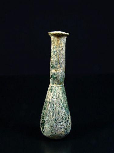 Roman Glass Bottle, 1st-2nd Century AD