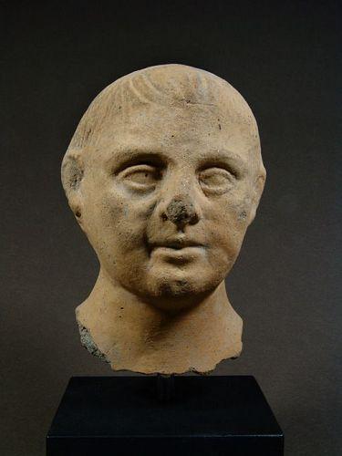 Etruscan Votive Head of a Boy, 3rd/2nd Century BC