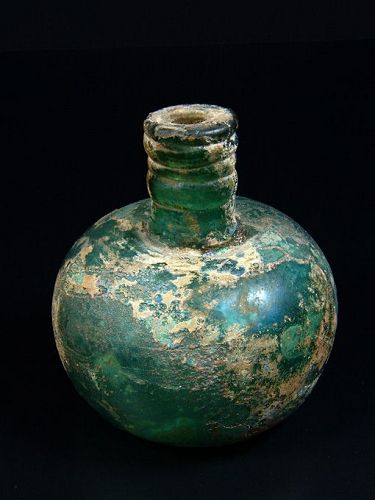 Early Islamic Toilet Bottle, 9th-10th Century AD