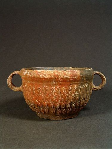 Megarian Bowl with Floral Patterns, Asia Minor, 1st Century BC