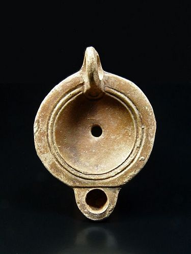 Roman North African Lamp, Late Flavian to Early Antonine, 80-160 AD