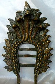 18th/19th century Bronze Nepalese shrine Backplate