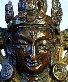 18th Century Sino Tibetan Bronze Amitayus