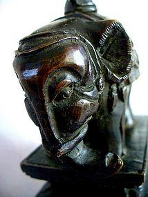 19th century Chinese Bronze Altar Piece