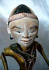 Javanese Wayang Golek Cepak Puppet