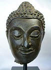 16th Century Thai Buddha Head