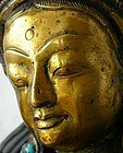 Tibetan Bronze of the Green Tara