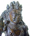 Tibetan 15th/16th century bronze Vajrapani
