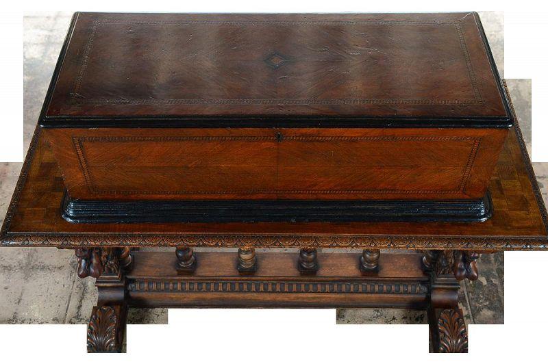F Conchon 19th Century Swiss Cylinder Music Box