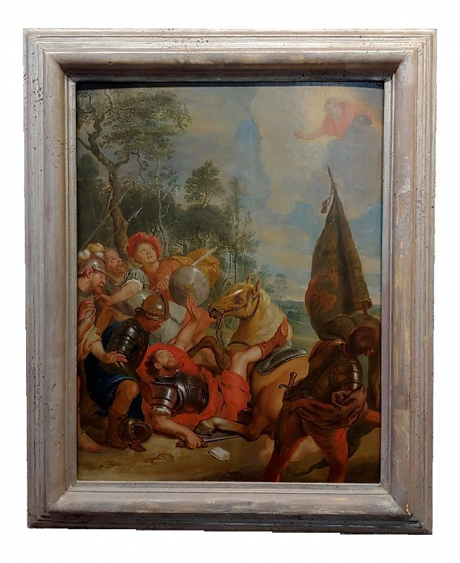 16th/17th Century Old Master Oil Painting, Wounded Warrior