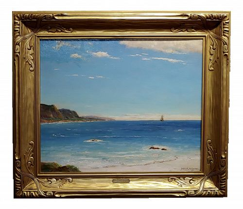 Dedrick Stuber -Beautiful 1920s California Turquoise Beach