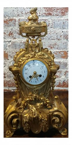 19th Century French Empire Clock