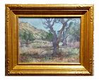 Charles Fries Oaks & Hills Near Mussey Grade California Oil Painting