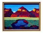 Conrad Buff - Mountain & Lake Landscape - Oil Painting