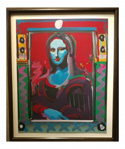 Peter Max - Mona Lisa Serigraph