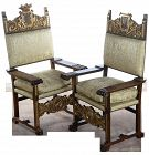 Renaissance Arm Chairs - Pair