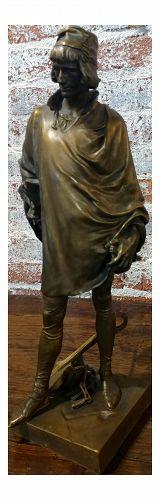 19th Century Bronze Renaissance Sculpture