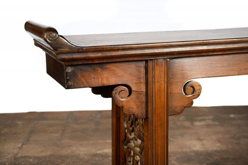 Chinese 19th Century Hardwood Altar Table