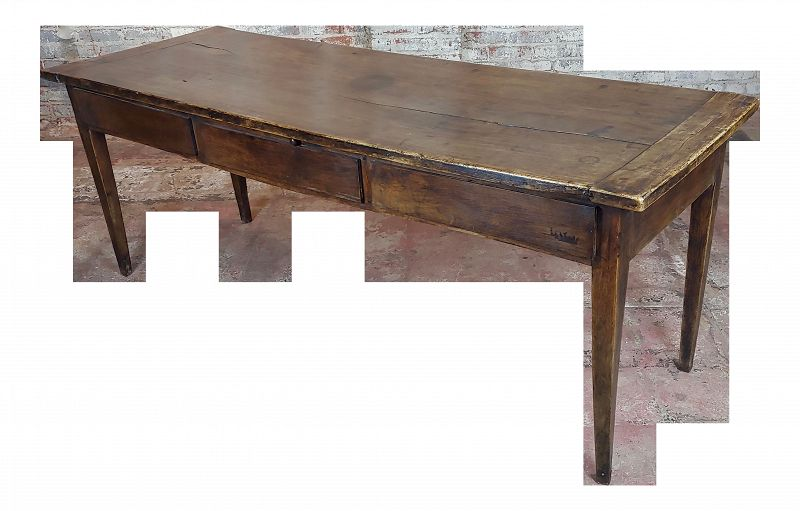 19th Century Early Country French & Farm Dining Table