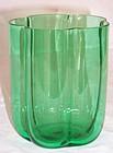 Pomona Green Steuben Vase