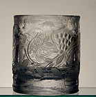 Engraved Bjorn Wiinblad Vase