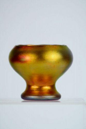 Miniature Steuben Vase