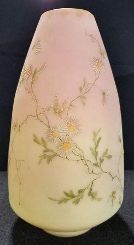 Mt. Washington Decorated Burmese Vase