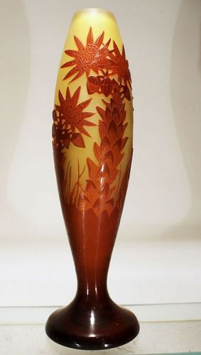 Galle Cameo Vase
