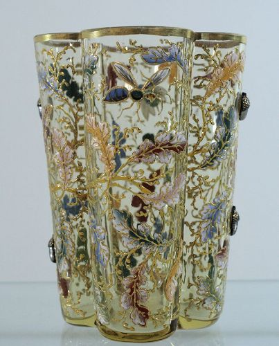 Moser Tumbler With Applied Acorns
